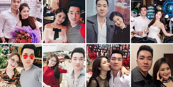 Đức Phan có cả một BST ảnh chụp chung với Hương Tràm như đôi tình nhân.
