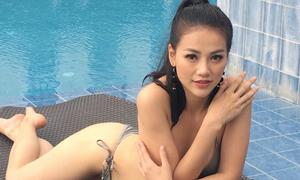 Phương Khánh khoe đường cong bên dàn thí sinh Miss Earth 2018