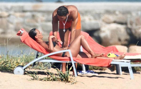 Nereida Gallardo và Ronaldo bên nhau thuở còn mặn nồng.