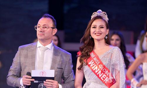Khánh Ngân 'bỗng dưng mất quyền' trao vương miện Miss Globe cho người kế vị