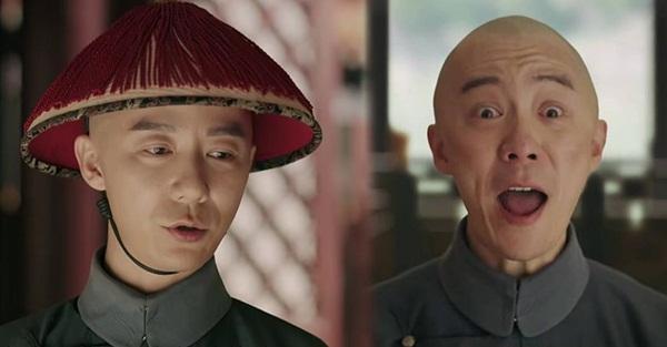 Vương Mậu Lôi đóng vai một tên thái giám thần kinh không bình thường.