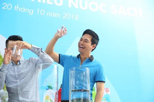 Hoàng Bách và mẹ kêu gọi ủng hộ Nước uống sạch cho trẻ em - 2