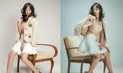 Nữ CĐV gây sốt kỳ Asiad 2018 xuất hiện gợi cảm trên báo Hàn