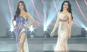 Bán kết Miss Grand: Phương Nga chưa tự tin, đại diện Philippines suýt ngã