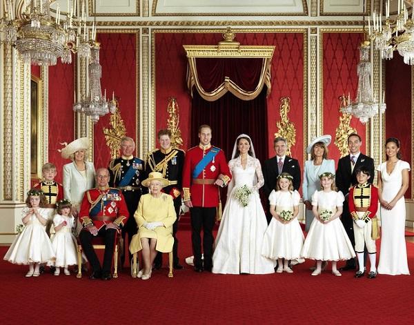 8 bí mật ít ai biết về gia đình Hoàng gia - 1