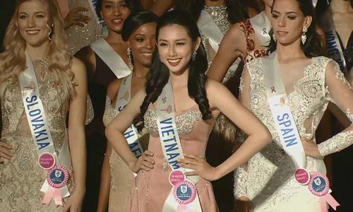 Fan mừng dù Thùy Tiên trượt giải phụ tại Miss International