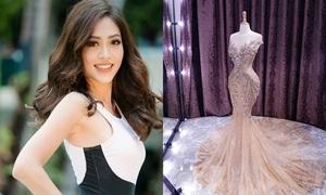 Đầm dạ hội gợi cảm của Phương Nga trong đêm chung kết Miss Grand