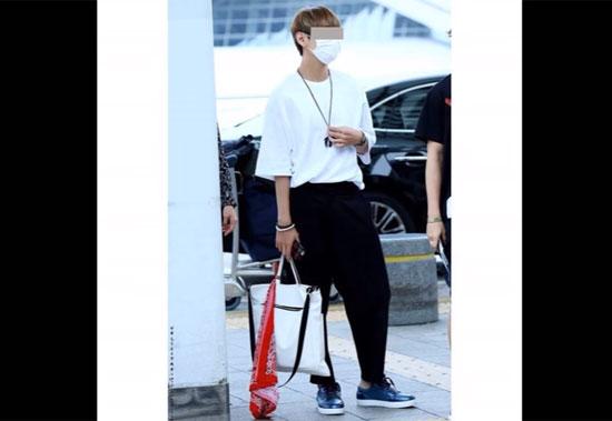 Thời trang sân bay sành điệu này là của idol nào? (2)