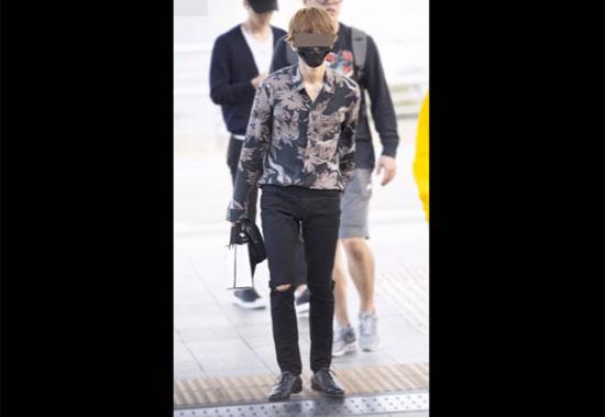 Thời trang sân bay sành điệu này là của idol nào? (2) - 9