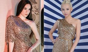 Phí Phương Anh biến hóa sáng tạo khi mặc lại váy của Hà Hồ