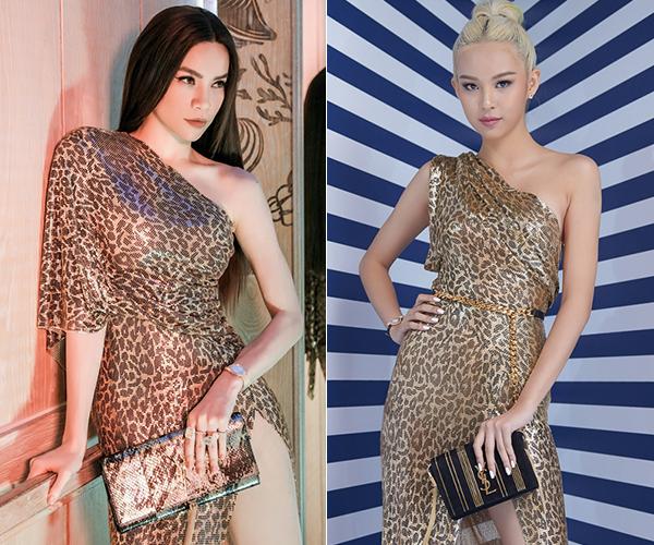 Phí Phương Anh biến hóa sáng tạo khi mặc lại váy của thầy Hà Hồ - 4