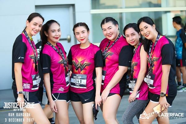 Một số hình ảnh về Justice League Night Run tại Thái Lan - 2
