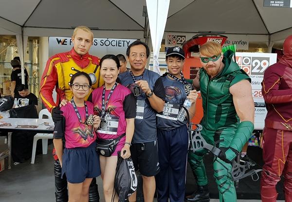 Một số hình ảnh về Justice League Night Run tại Thái Lan - 4