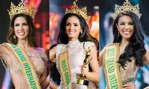 7 mỹ nhân từng đăng quang Miss Grand International