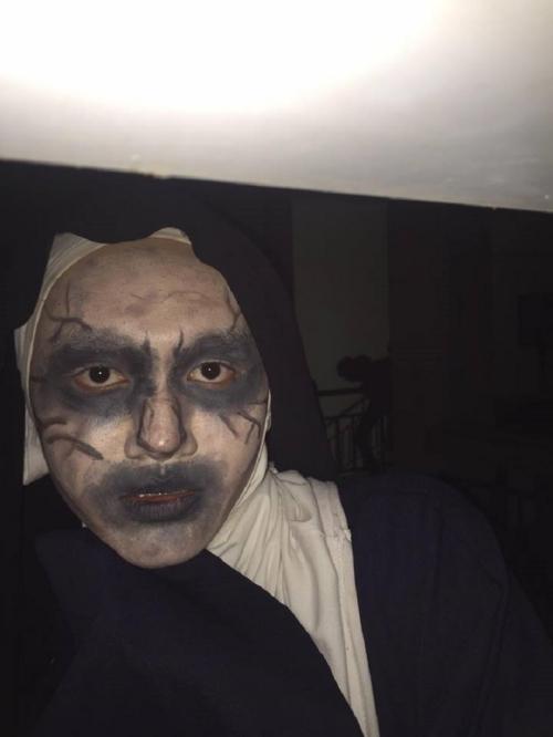 Valak - nhân vật được cosplay nhiều nhất mùa Halloween năm nay.