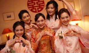 Rò rỉ ảnh hôn lễ cổ tích của Đường Yên - La Tấn