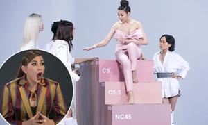 Minh Hằng - Hoàng Yến bức xúc vì nghi The Face 'tráo sản phẩm' cho team Thanh Hằng