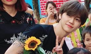 Jae Min (NCT) khoe tóc đen ở Việt Nam, đẹp như nam chính phim thanh xuân