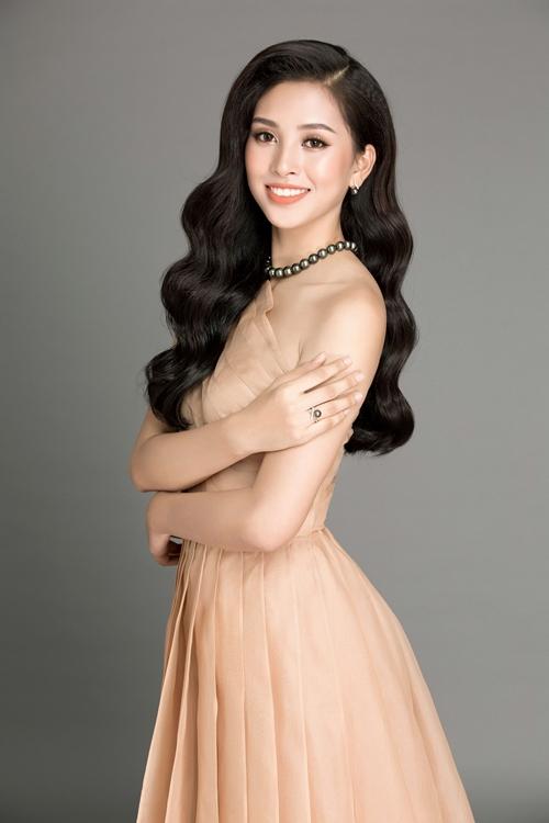 Hoa hậu Trần Tiểu Vy.