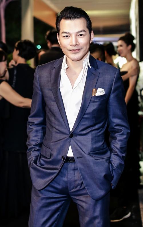 Diễn viên Trần Bảo Sơn lịch lãm.