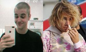 Justin cạo trọc đầu, từ biệt hình tượng 'ông chú luộm thuộm'