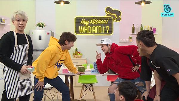 Thử thách tiếp theo, 5 thành viên nhóm Monstar và host của chương trình chia làm hai đội, tham gia trò chơi nhìn khẩu hình, đoán tên bài hát.