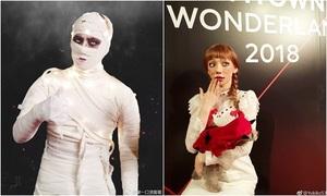 Tiệc Halloween khủng nhất Kpop: 'Gà' nhà SM chứng tỏ đẳng cấp hóa trang