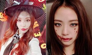 Idol Hàn hóa trang Halloween vẫn 'xinh hết phần thiên hạ'