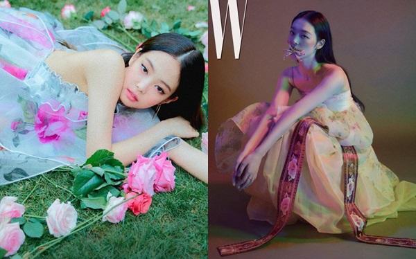 Cũng có những ý kiến cho rằng Jennie đã bắt chước phong cách Sulli trong loạt ảnh trên tạp chí W hồi tháng 9/2018.