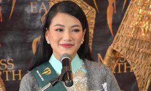 Á hậu Phương Khánh bị cảm lạnh trước chung kết Miss Earth