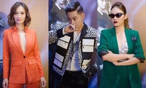 Dàn sao Việt xúng xính xem phim kinh dị đúng ngày Halloween