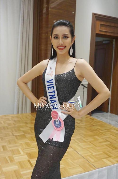 Nguyễn Thúc Thùy Tiên - đại diện Việt Nam tại Hoa hậu Quốc tế 2018.