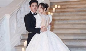 Ý nghĩa đặc biệt trên chiếc váy cưới mất gần 7 tháng để hoàn thành của Đường Yên