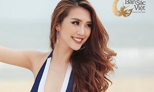 Đã đăng quang cuộc thi quốc tế, Tường Linh vẫn tiếp tục thi Hoa hậu bản sắc Việt