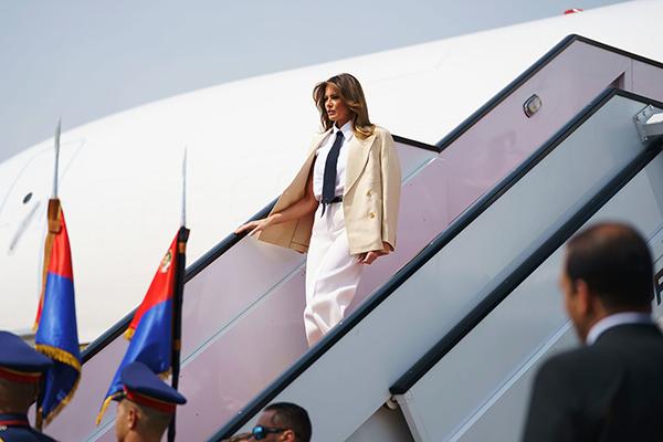 Đệ nhất Phu nhân Mỹ ghé thăm Ai Cập ngày 30/9.