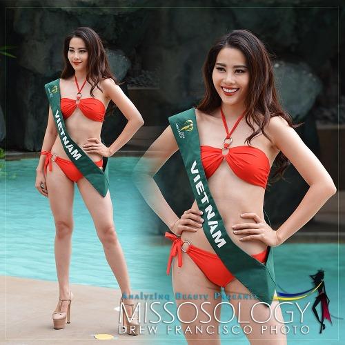 Nam Em lọt top 16 Hoa hậu Trái đất 2016.