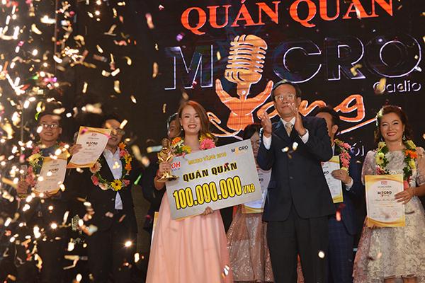 Cô gái chinh phục MC Thanh Bạch nhờ giọng nói cảm xúc, ẵm 100 triệu đồng