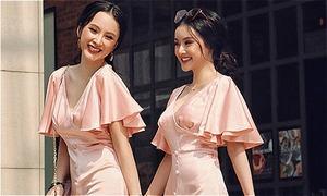 Đồ đôi không cần đắt đỏ vẫn sang chảnh của chị em Angela Phương Trinh