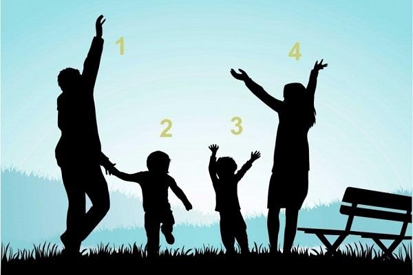 Trắc nghiệm: Tiết lộ cách sống của bạn qua hình ảnh gia đình