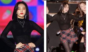 Joy (Red Velvet) thành đề tài hot vì mặc áo xuyên thấu lộ nội y