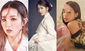 Những idol sở hữu thần thái 'đẹp quên sầu' trên ảnh tạp chí