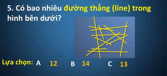 Người thông minh sẽ có kết quả đúng cho câu đố này - 4
