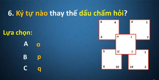 Người thông minh sẽ có kết quả đúng cho câu đố này - 5