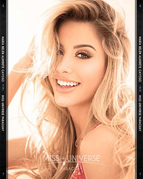 Hoa hậu ParaguayMarea Bel_n Alderete Gayoso