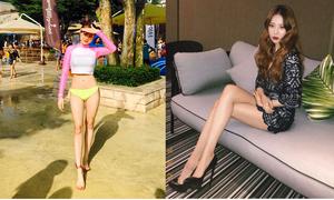 Lisa, Sun Mi gây tranh cãi khi vào top idol có đôi chân đẹp