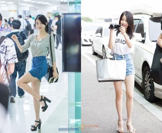 7 nữ idol có đôi chân đẹp, gây tranh cãi vì những hình thể siêu gầy - page 2 - 3