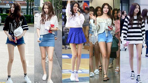 Lisa, Sun Mi gây tranh cãi khi vào top idol có đôi chân đẹp - 6