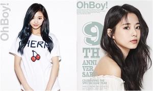 Chỉ sau hai năm, Twice lột xác về khí chất khi chụp tạp chí