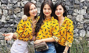 Sở thích mặc đồ 'có hội có phường' của bộ ba Phanh Lee - Huyền Lizzie - Thu Hoài