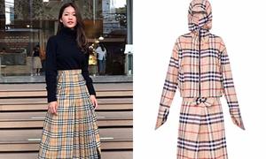 Váy hiệu 30 triệu đồng của Khả Ngân bị so với... váy quấn chống nắng